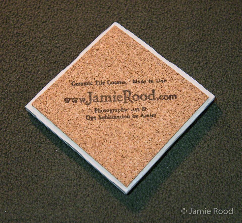 Ceramic Tile with Cork Backer