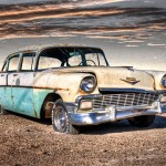 Old 50s Chevy - Texas Panhandle