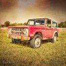 Ford Bronco - Ceramic Tile Coaster
